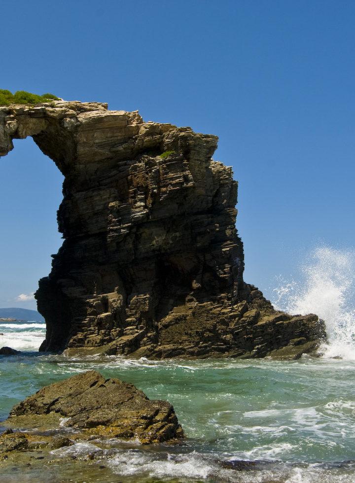 As Catedrais, donde el mar esculpió la roca y la convirtió en arte